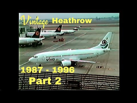 A Day at the Queens Building - Heathrow Airport 1987 - 1996) Part 2