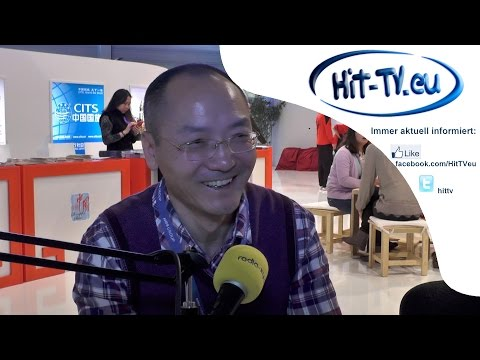 ITB 2015 Radio XY Interview mit Xu Ning China Seidenstrasse - Yellow River International Tours