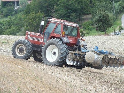 Fiatagri 180-90 Powershift & Fontana Modular | Discatura 2016 | Agriculture Real