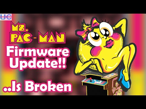 DO NOT Install the New Ms Pac Man Firmware Update for Arcade1up Cocktail Cabinet from Unqualified Critics