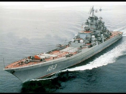Russian nuclear  battlecruiser Pyotr Velikiy  is the King of all ships