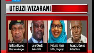 Rais Kenyatta afanya madadiliko katika baraza la mawaziri