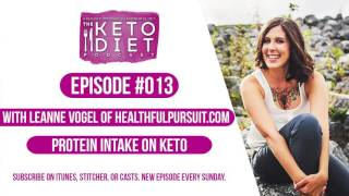#013 The Keto Diet Podcast: Protein Intake on Keto