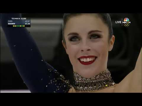 Ashley WAGNER Short Program 'Sweet Dreams' 2017 US Nationals