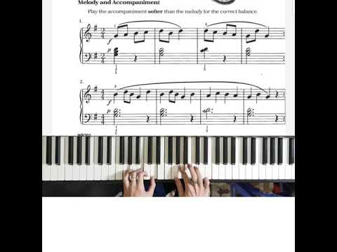 bastien-piano-basic-level-1:-melody-and-accompaniment-in-g