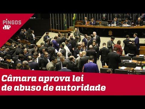 Corruptos em festa: Câmara aprova abuso de autoridade