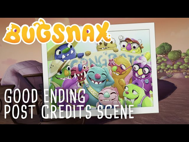 Bugsnax -  Post Credits Scene (Good Ending)