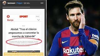 Messi rastet aus auf Instagram !!