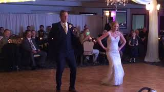 Father and Daughter surprise dance