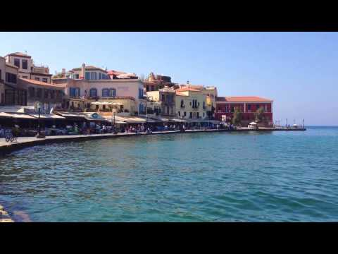Chania, West Crete Videoclip (including some parts of prefecture Rethymnon)