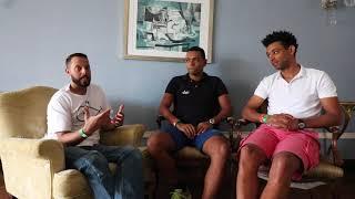 Bate Papo com os treinadores do Henrique Avancini