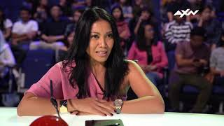 Anggun Gets All Excited About Her Golden Buzzer Choice! | AXN Asia's Got Talent 2019
