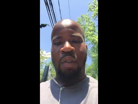 Matthew Mcgee posted this video to YouTube. He was pulled over by Darien police as he biked to work on Thursday. Warning: The video contains multiple profanities.