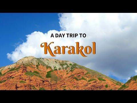 Visiting Karakol as day trip in Kyrgyzstan