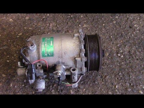 How to replace the AC compressor 2008 Honda CRV