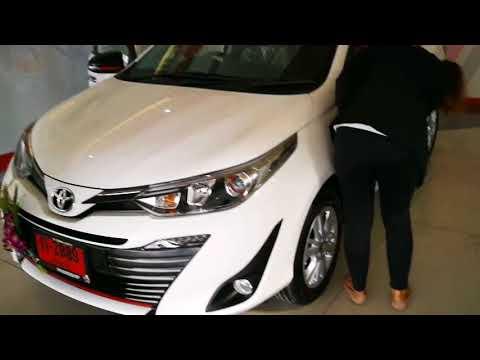 Фото к видео: Автомобиль Тойота Ярис АТИВ 1.2L