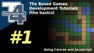 Tile based game development in Javascript & Canvas #1 by Technologies4 me