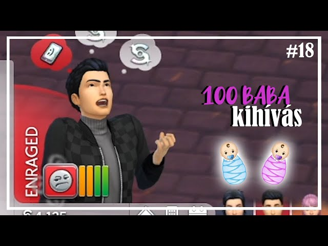 Chris NE 😱 | 100 Baba Kihívás 👶 egy kis csavarral 18. rész
