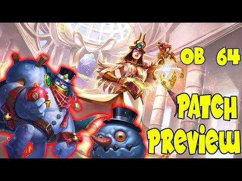 New Cards and Changes, OB 64 (Paladins PTS 64)