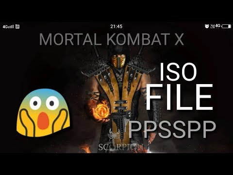 Mortal Kombat X Game Download For Ppsspp