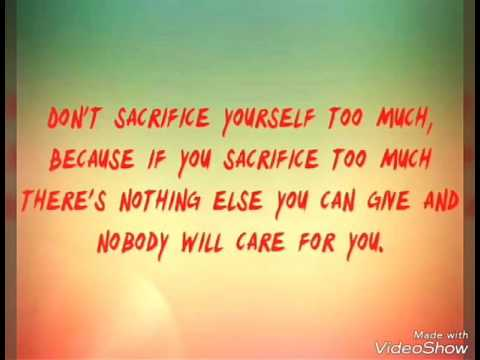 For Selfish People Quotes - YouTube