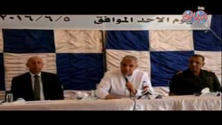 """""""محلب""""يعقد اجتماعا مع الصيادين والمختصين بتنمية بحيرة ناصر"""