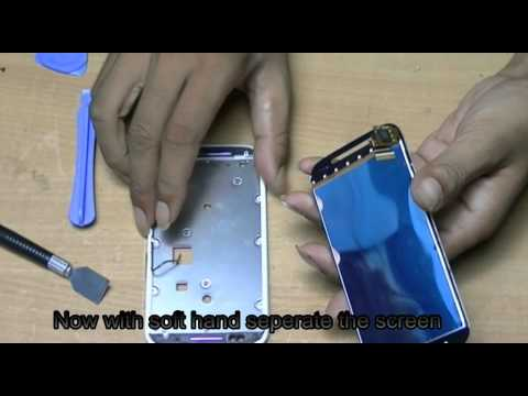 Moto E disassembly and screen change