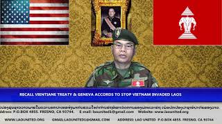 Laonet.Tv Episode Recall Vientiane Treaty to prevent Vietnam taking over Laos