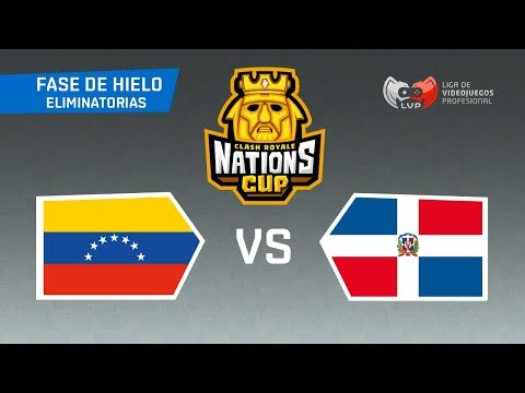 MUNDIAL DE CLASH ROYALE: VENEZUELA x REPÚBLICA DOMINICANA - CR Nations Cup | Mundial de Clash Royale
