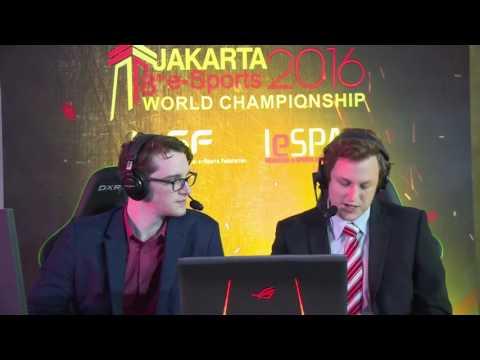 8th e-Sports World Championship Jakarta 2016 - LoL Final