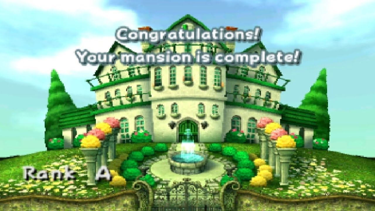 Luigi's Mansion 3DS - Complete 100% Walkthrough (A Rank - All Gold Portraits, Boos & Gems)