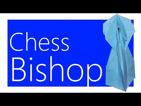 Chess Bishop Origami Tutorial (Joseph Wu)