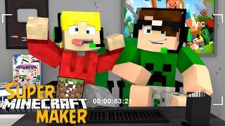 Minecraft: VIDA DE YOUTUBER! (Super Minecraft Maker)