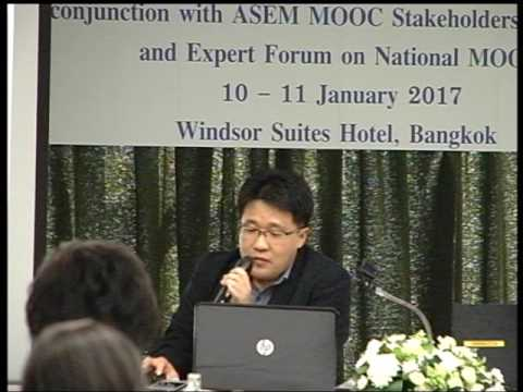 Platform development  Case study from K-MOOC By Mr. Choi Jae Wan