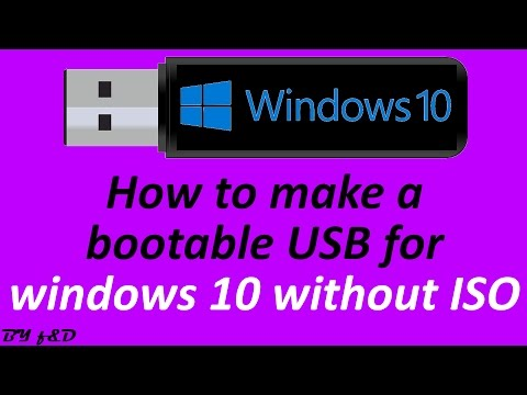 Install windows 10 to USB with LINUX LIVE USB CREATOR