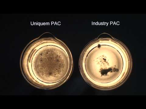 Uniquem Drilling Fluids Chemicals - PAC vs Industry PAC