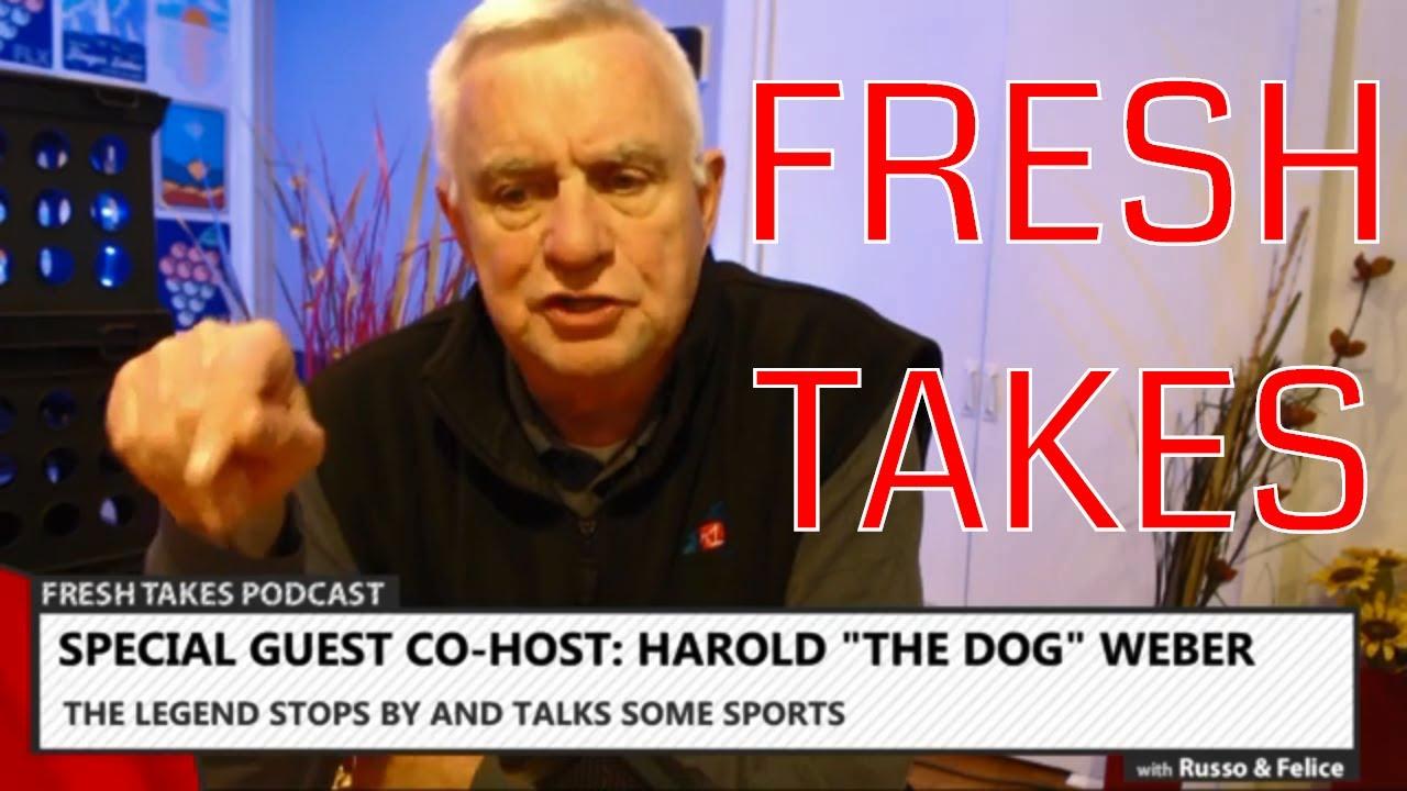 Harold Weber in-studio & Mynderse-Waterloo football rivalry renewed .::. Fresh Takes w/ Russo & Felice 10/29/19