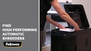 Selecting an Office Paper Shredder That's Automatic- AutoMax™ 350C and 550C