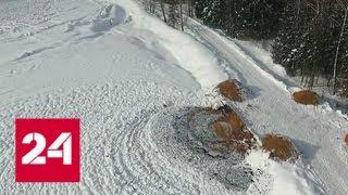 Зловонная свалка может отравить воду в Сергиево-Посадском районе Подмосковья - Россия 24
