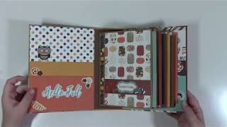 Flap and Pockets Mini Album (Beginner Series 1) Construction Video