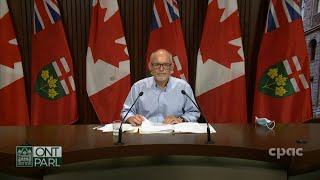 Ontario health official provides COVID-19 update – August 3, 2021