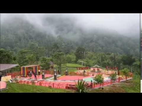 Wisata Kabut Kebun Raya Liwa Lampung Barat
