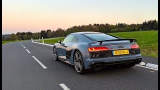 0-200mph in 24 hours | Audi R8 V10 Performance Review 2019 | Top Speed |