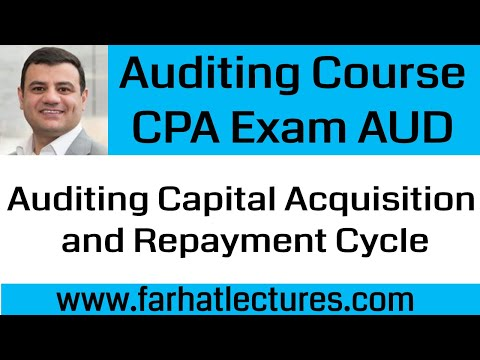 Audit Capital Acquisition Audit Of Notes Payable Audits Of
