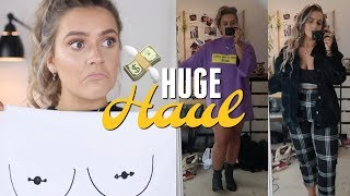 HUGE Try-on Autumn/Winter Haul!   ASOS, Topshop, Urban, MissGuided