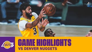 HIGHLIGHTS | Anthony Davis (27 pts, 6 reb, 5 ast) vs Denver Nuggets