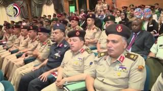 الفريق أول صدقى صبحى يشهد حفل تخرج دارسى دورات أكاديمية ناصر العسكرية العليا