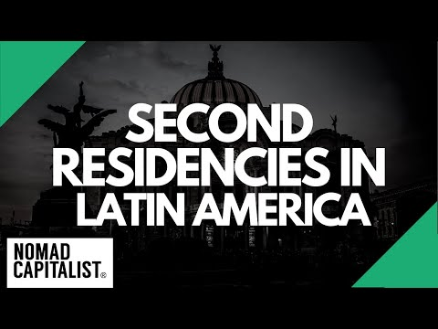 6 Easy Second Residencies in Latin America