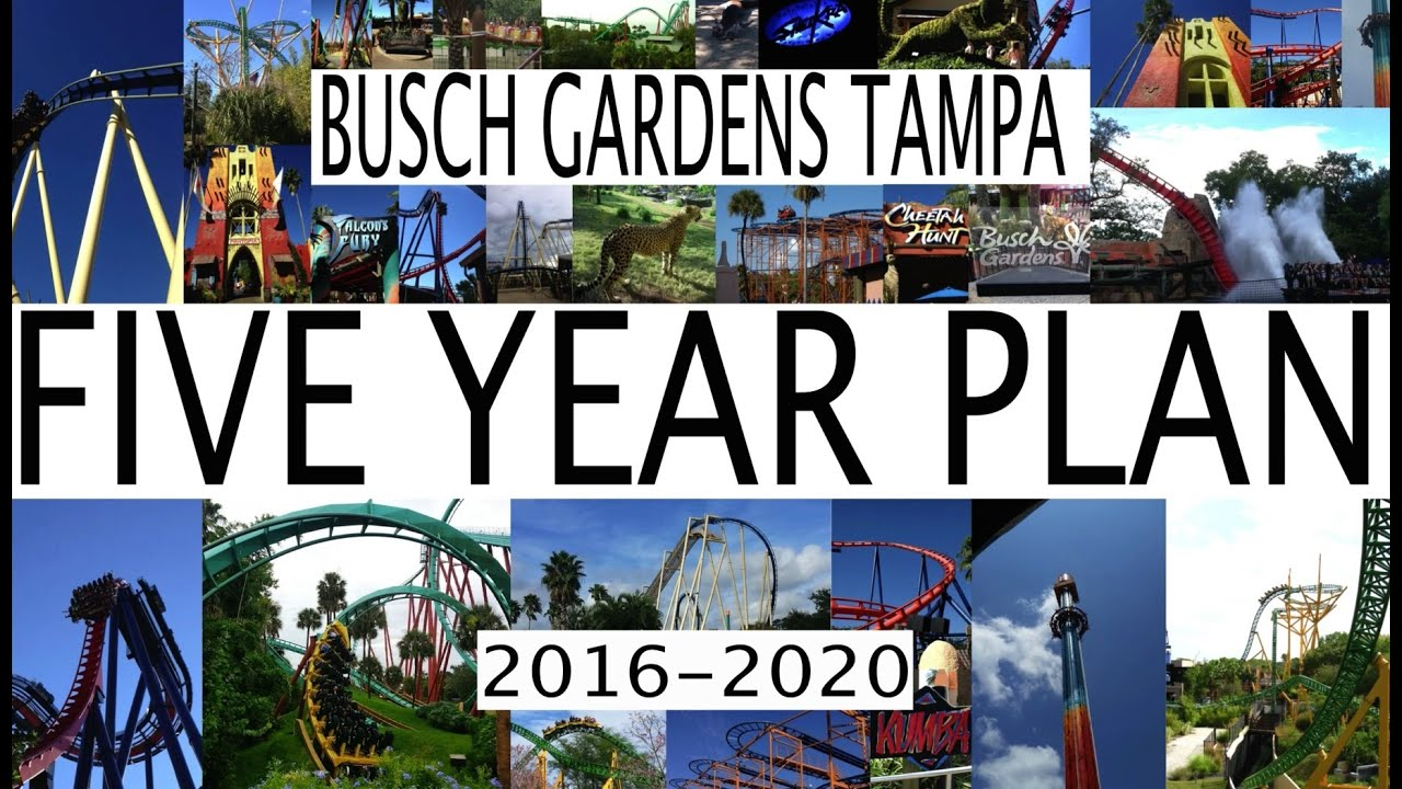 Busch Gardens Tampa Bay 5 Year Plan 2016 2020 Future Attractions