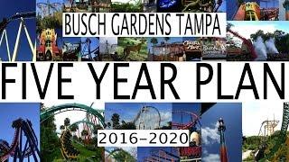busch gardens tampa bay 5 year plan 2016 2020 future attractions